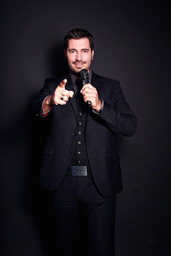 Zauberer Leipzig Stefan Gärtner - Moderator